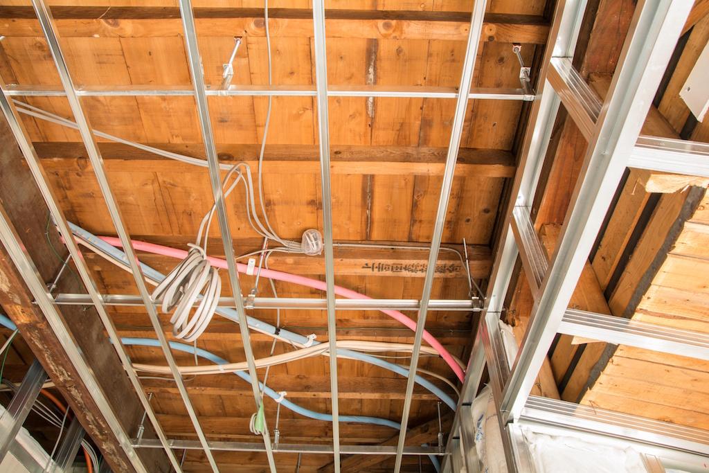 木造住宅の天井